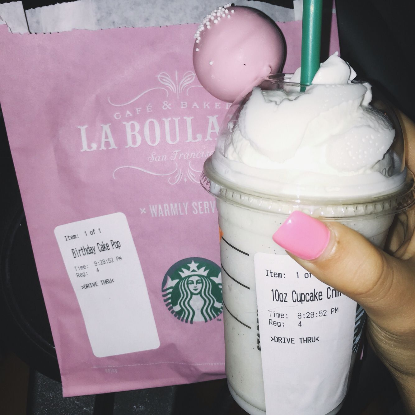 Sensational Mini Cupcake Frappuccino And Birthdaycake Cakepop With Images Funny Birthday Cards Online Alyptdamsfinfo