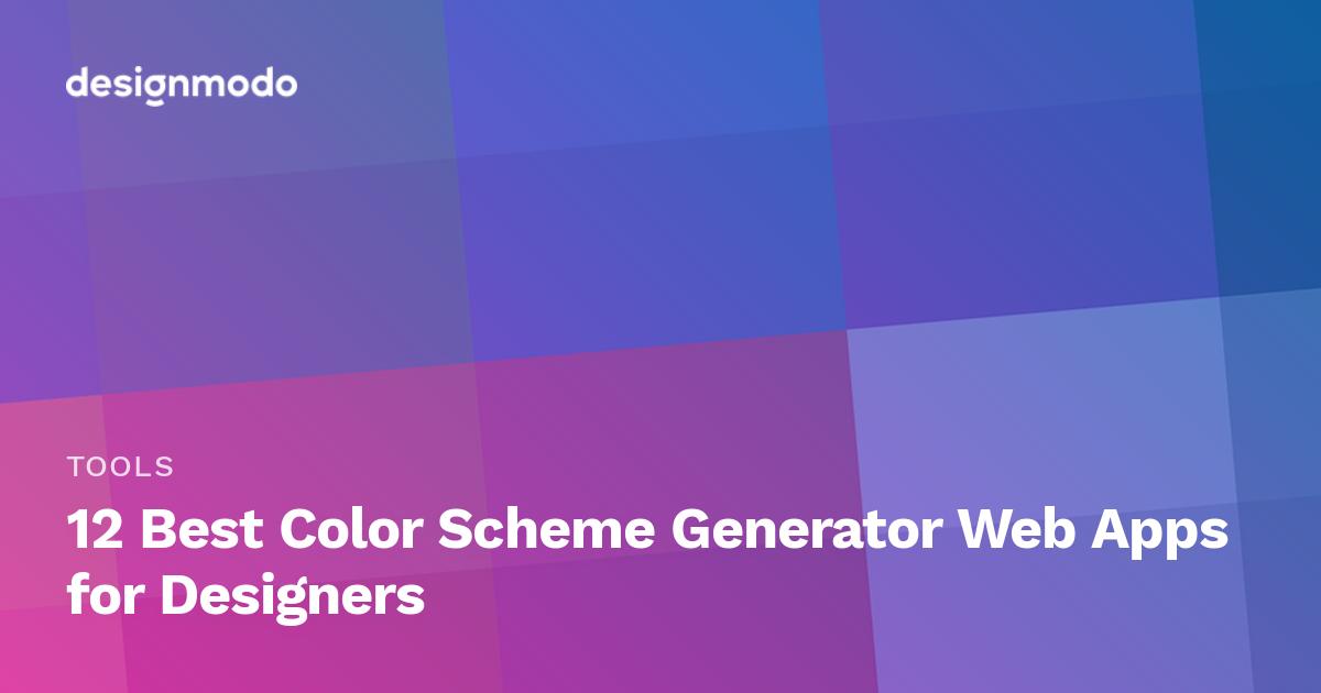 12 Best Color Scheme Generator Web Apps for Designers ...