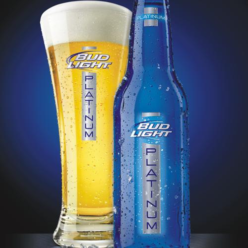 Bud Light Platinum Never In A Glass Always In The Pretty Blue Bottle Please Bud Light Beer Bud Light Beer Brands