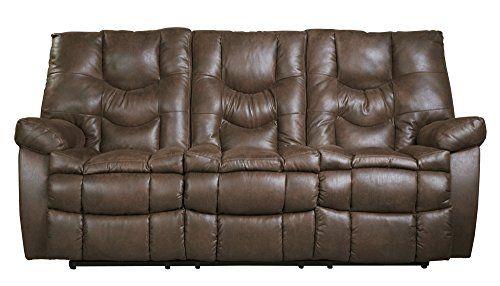 Benchcraft Burgett 9220188 85 Reclining Sofa With Jumbo Stitching