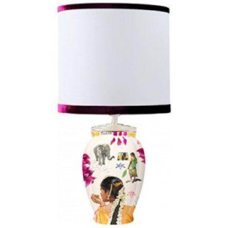 Lampe Fontainebleau Route Des Indes Lighting Table Lamps Abat