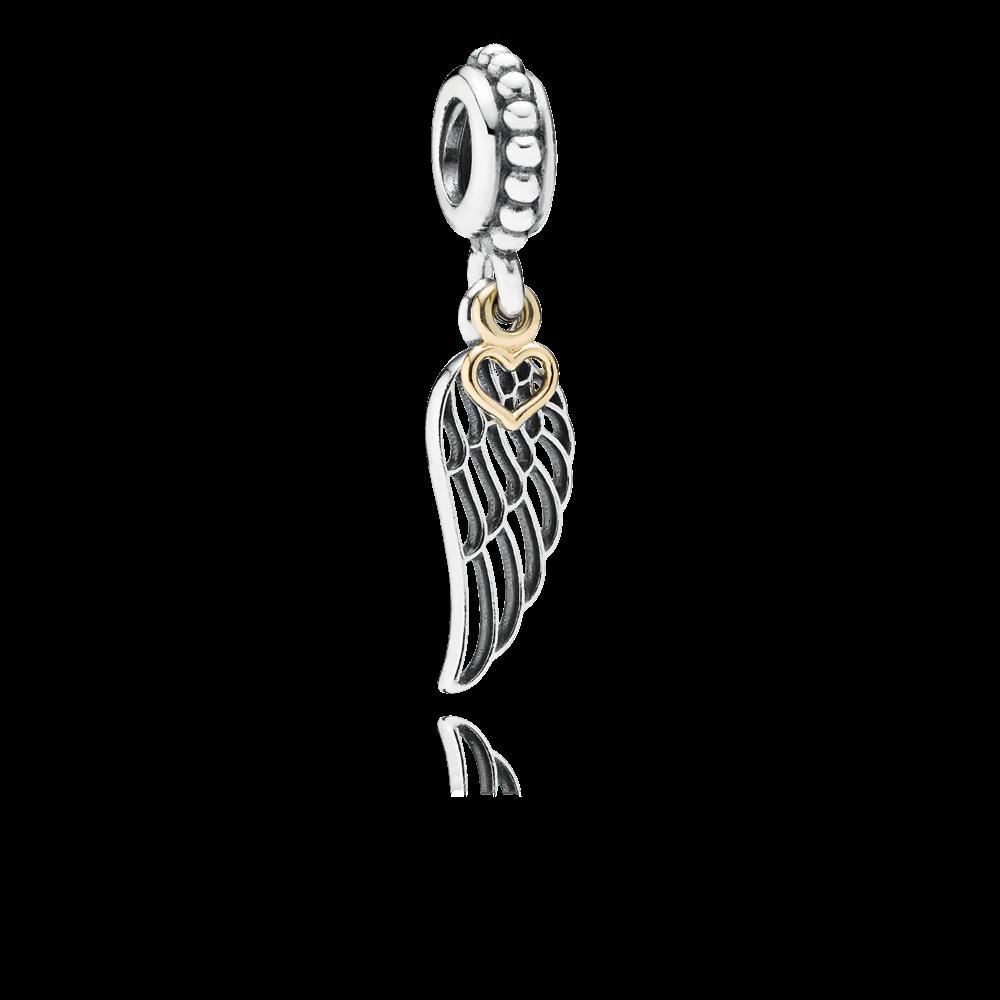 Voorjaar 2016 (zelf gekocht) PANDORA | Dangle charm Liefde & sturing. Honda,Elfenvleugel