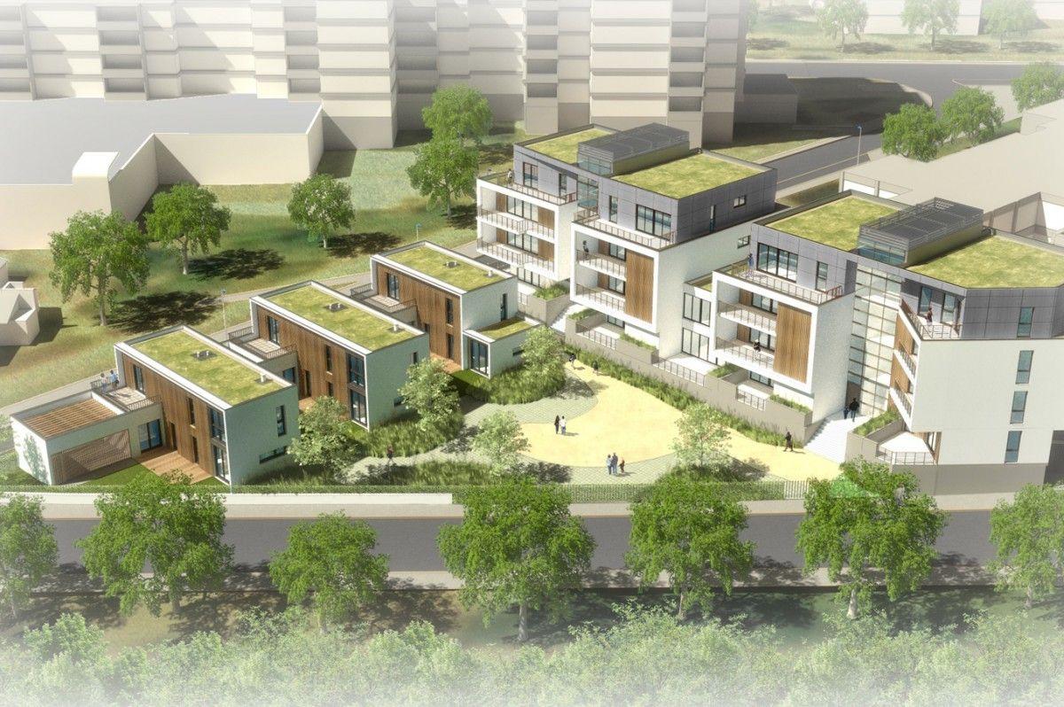 Xxl Architecture Logements Belvedere Gentilly Pinterest