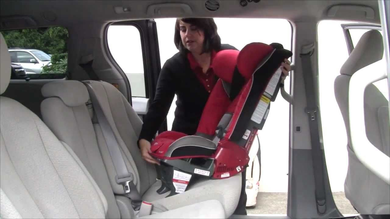 Video How To Install The Diono Radian Car Seat Rear Facing With Lap Shoulder Belt