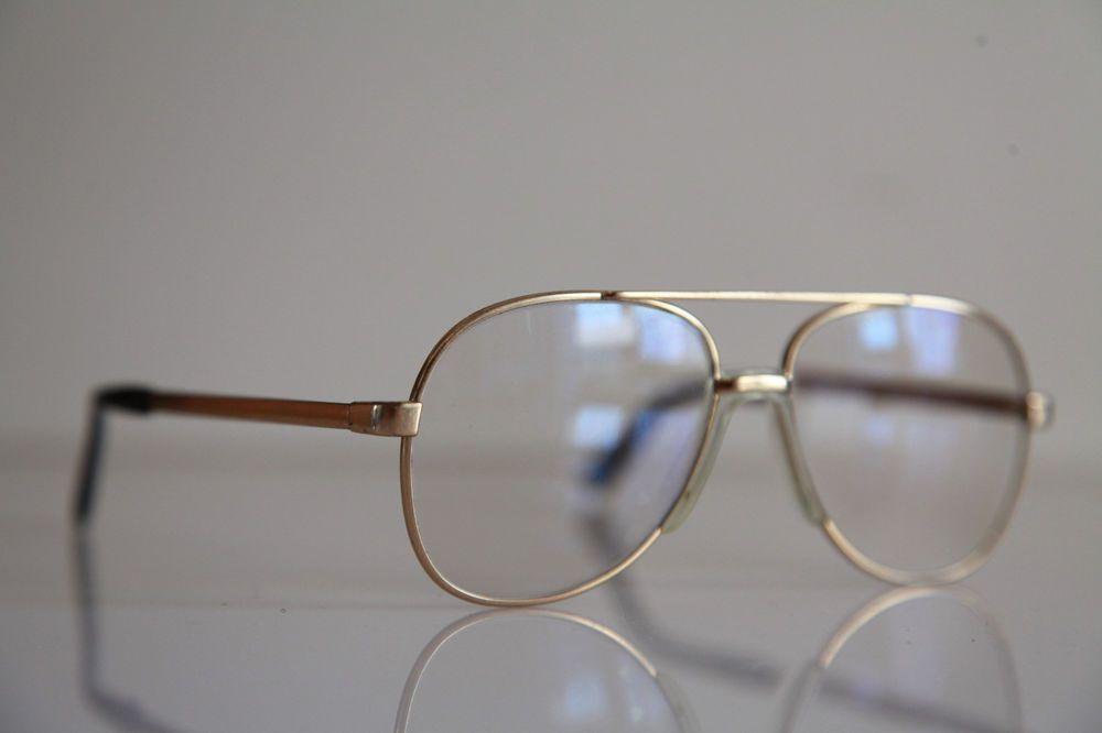 RODENSTOCK TOBIAS Eyewear, Gold Aviator Frame, RX-Able Prescription lens