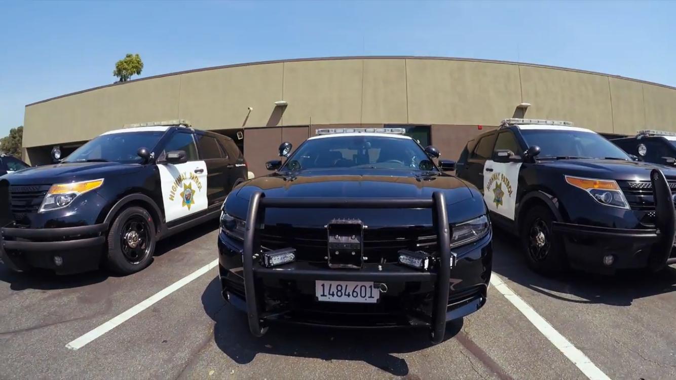 California Highway Patrol Fleet California Highway Patrol Commercial Vehicle Los Angeles Police Department