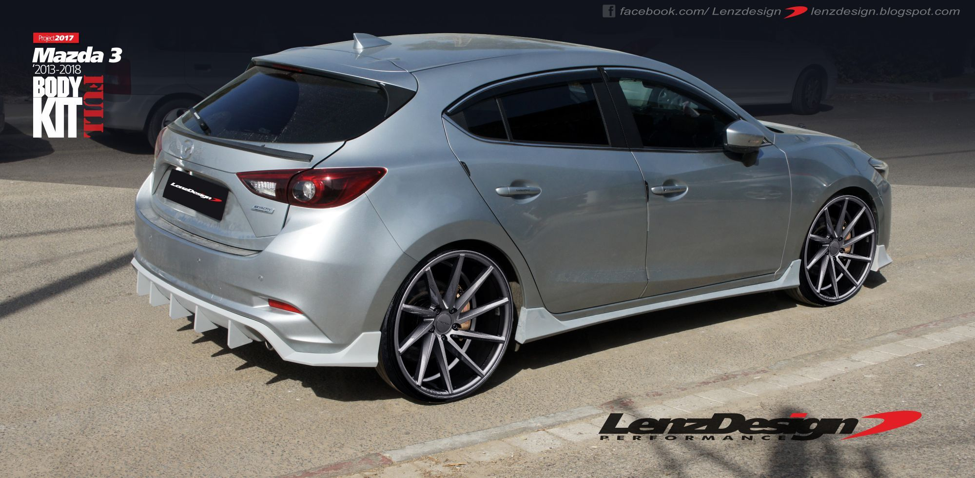 pin by lenzdesign bodykits snorkels on mazda 3 bm axela. Black Bedroom Furniture Sets. Home Design Ideas