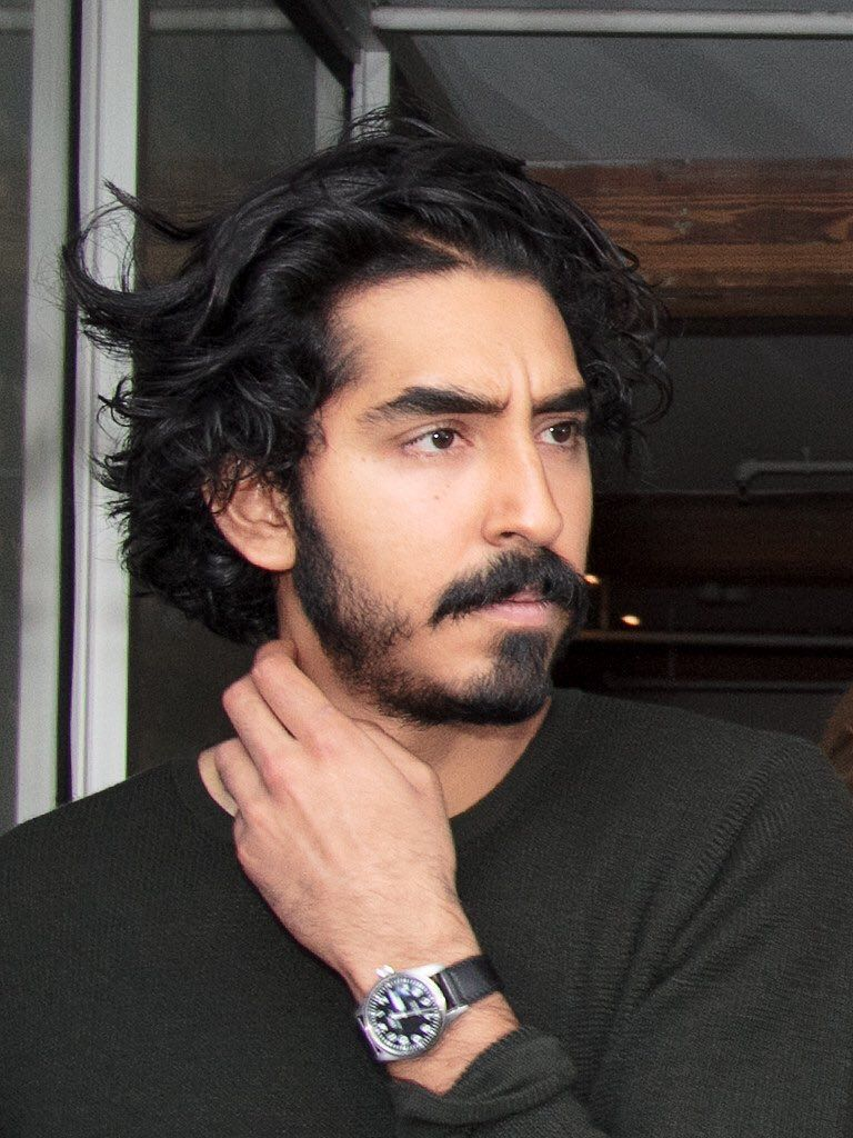 Dev Patel Male Indian Black Hair Dark Hair Brown Eyes Mustache