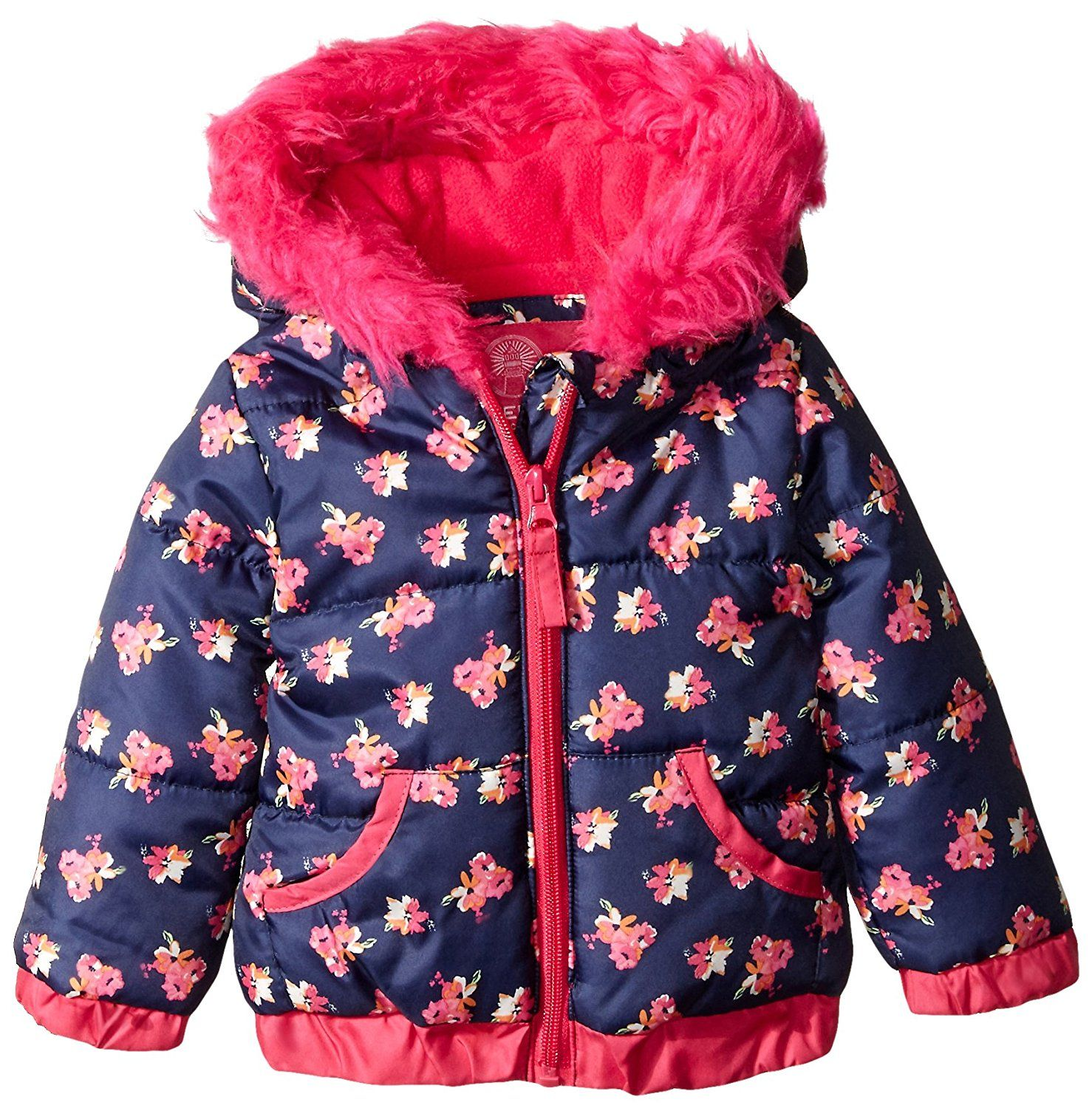 Weatherproof Baby Girls Infant Floral Puffer Jacket Check This Awesome Image Baby Clothes Baby Girl Jackets Jackets Clothes [ 1500 x 1478 Pixel ]