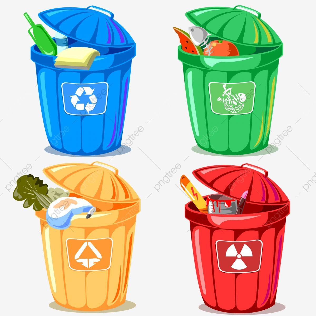 Cartoon Environmental Protection Rubbish Trash Can Trash Can Environmental Trash Can Environmental Theme Png Transparent Clipart Image And Psd File For Free Trash Can Trash Bins Trash