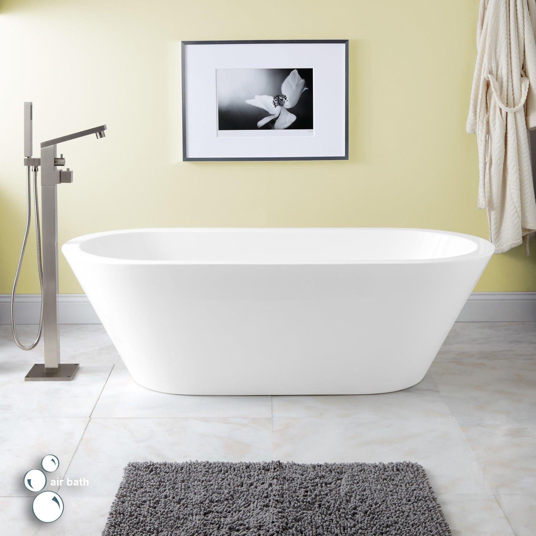 Collette Acrylic Freestanding Air Tub | Likes | Pinterest | Air tub ...