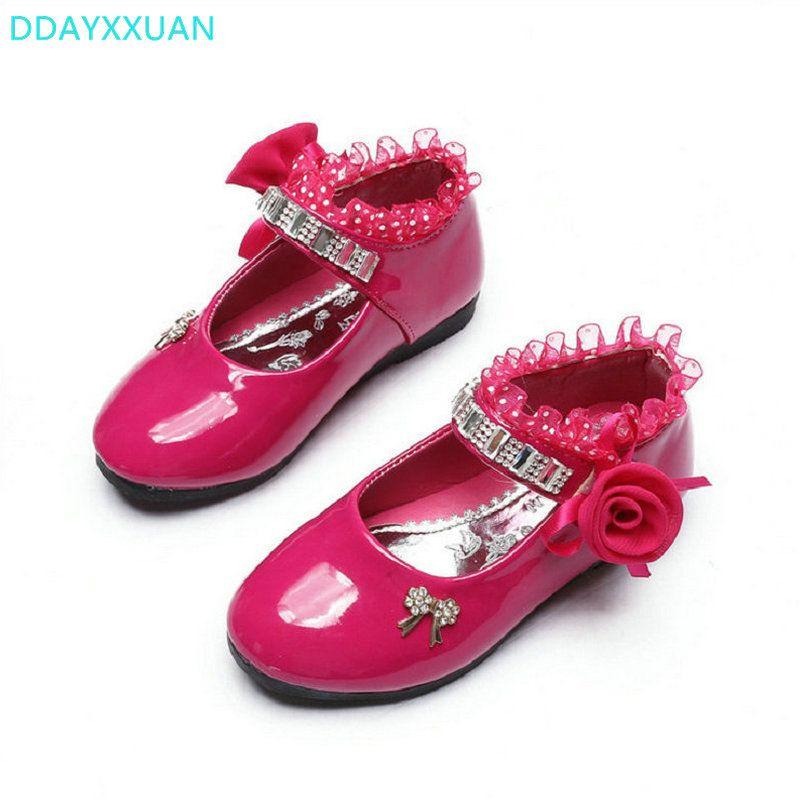 190349a2b37 Children shoes dance girls shoes 2018 New Summer fashion girls sandals kids  designer single princess shoes girls Flowers sandals.