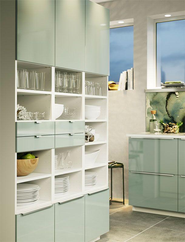 schlanker hochschrank teilweise durch offeneres fach unterbrochen wirkt weniger massiv ikea. Black Bedroom Furniture Sets. Home Design Ideas
