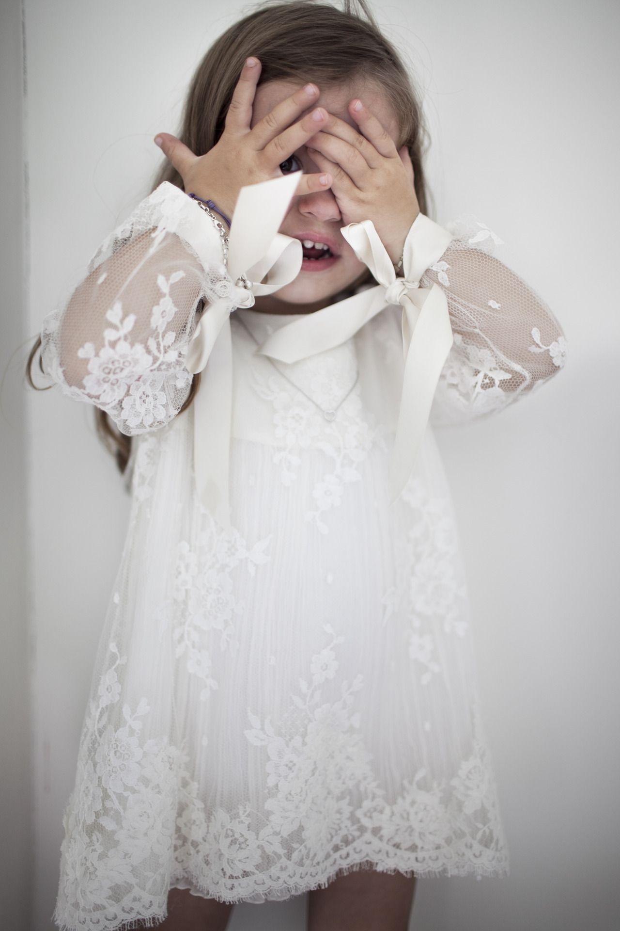Lace Flower Girl Dress By Delphine Manivet Kiddos Pinterest