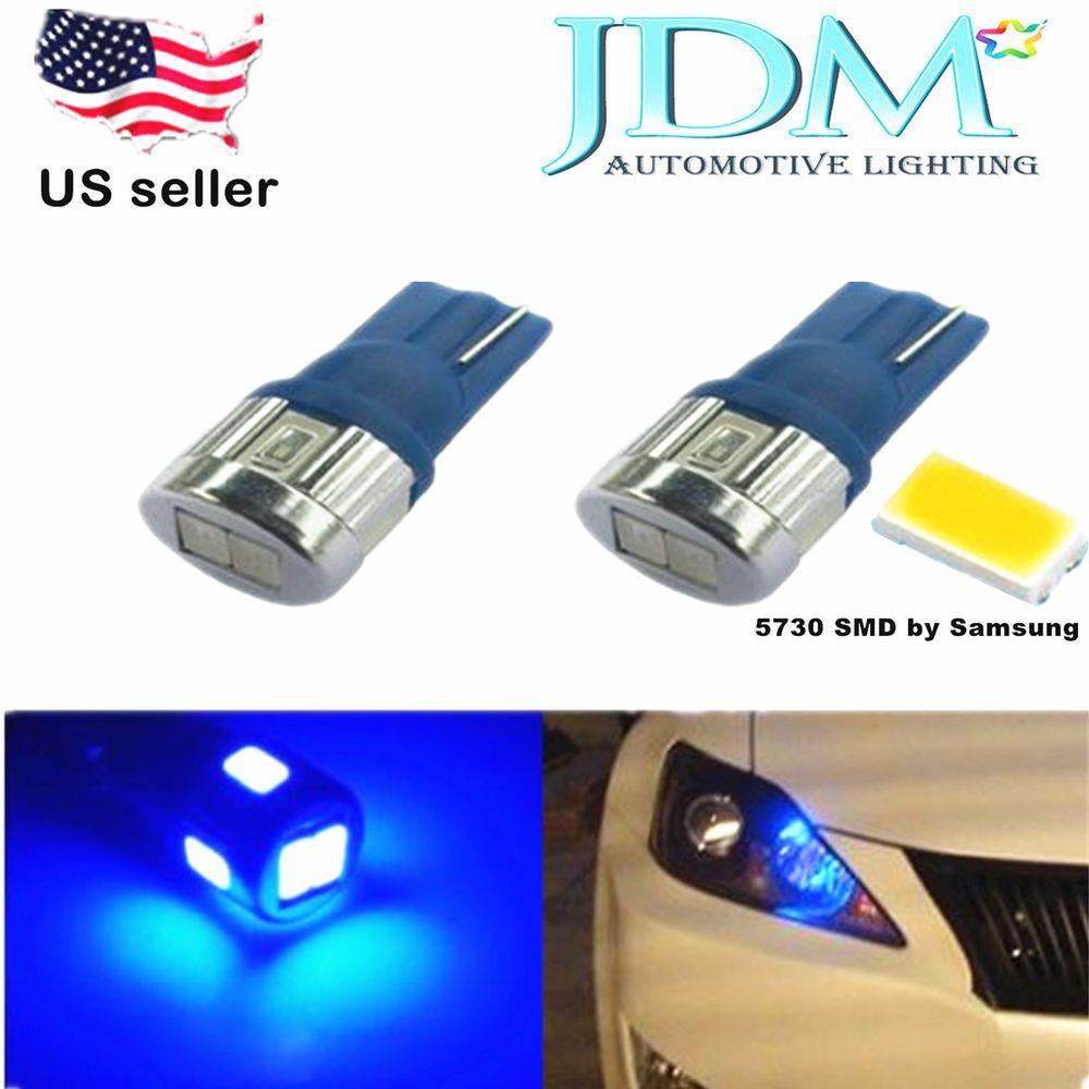 Jdm Astar Super Bright 5730 6 Smd 194 168 2825 Blue Car License Plate Led Bulb Jdmastar Automotive Led Lights Led Light Bulb Led Replacement Bulbs