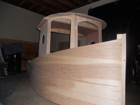 Diy Boat Bed I Luv Diy Boat Bed Diy Bed New Bed Designs