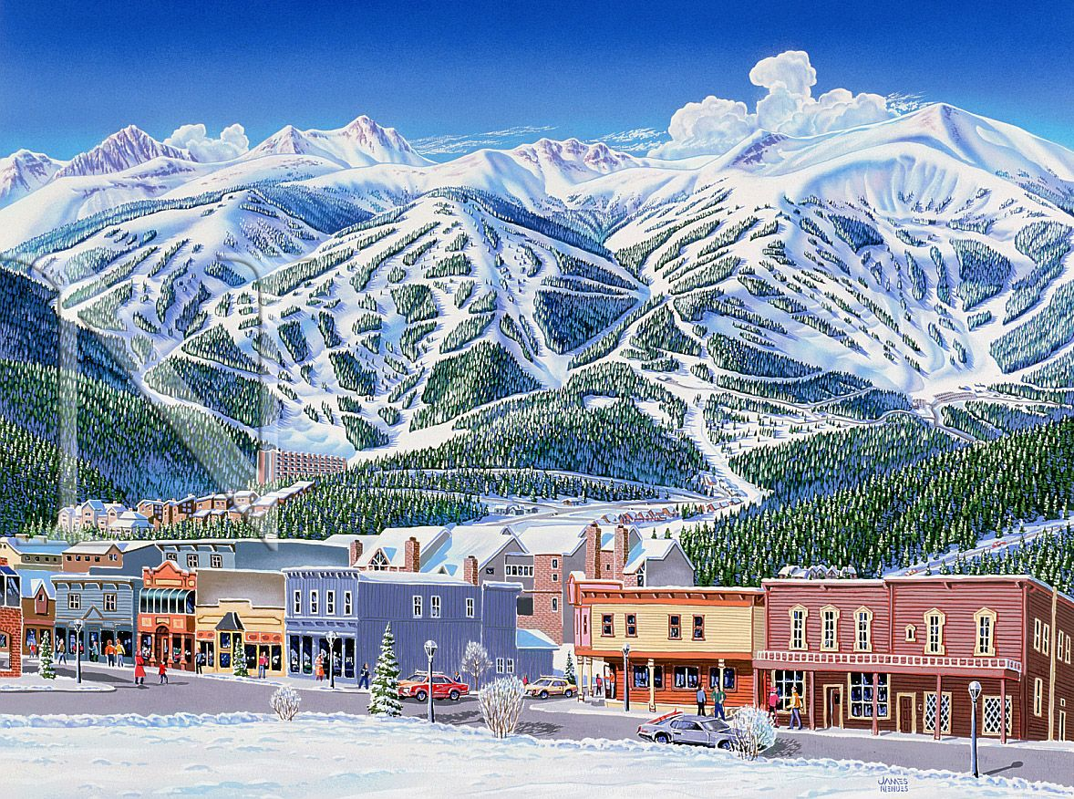 skiing in breckenridge, co | favorite places and spaces | pinterest