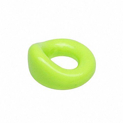 Sport Fucker The Wedge - schlanker Cockring - Durchmesser 20 mm, extrem dehnbar - neon grün, 1 Stück
