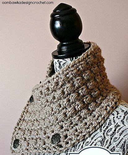 Let It Snow Quick Simple Winter Cowl Pattern By Rhondda Mol