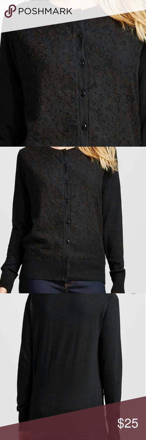 Embellished Lace Cardigan Sweater *Merona embellished lace ...
