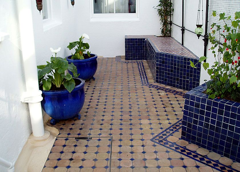Moroccan Style Courtyard Garden, Brighton: Lilybud Gardens By Design