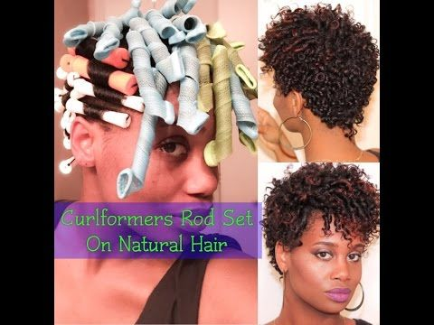 The Best Curlformer And Rod Set On Natural Hair Misskenk You