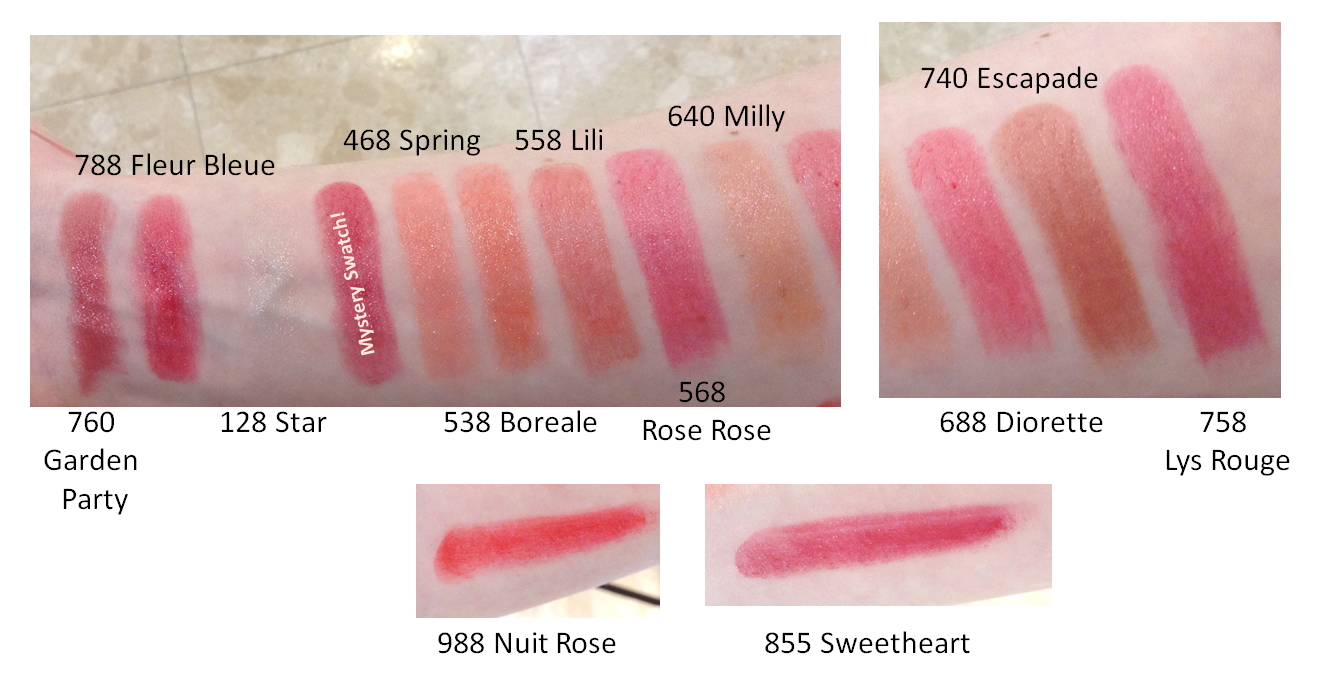 Loot Alert New Rouge Dior Baume Lipstick Swatches Makeup And