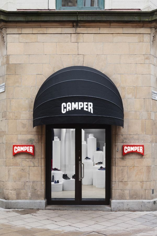 Camper Store In Stockholm By Nendo Camper Store Nendo Design Retail Space Design