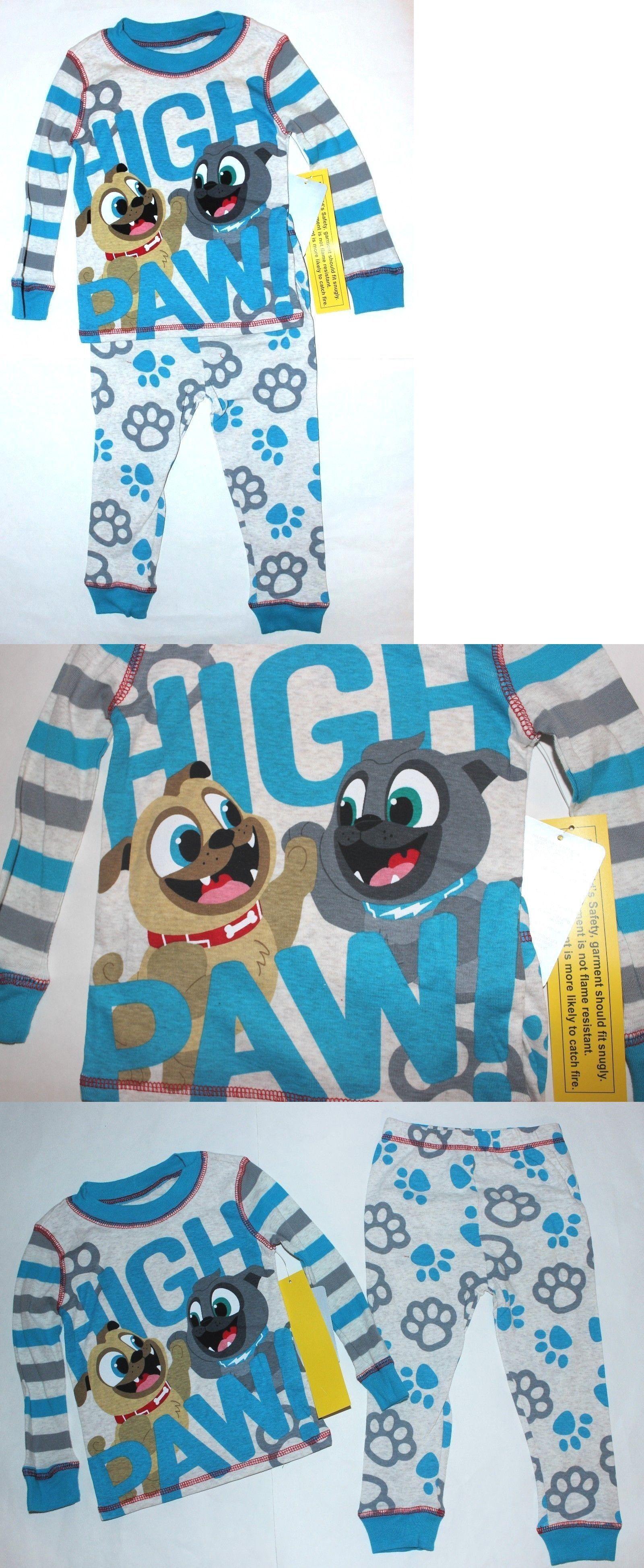 0d5494737f39 Sleepwear 147336  Boys 2T Or 4T Puppy Dog Pals Pajamas Basic Cotton ...