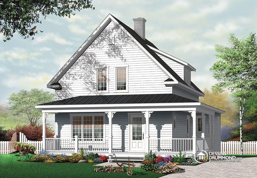 Détail du plan de Maison unifamiliale W3512 Family house