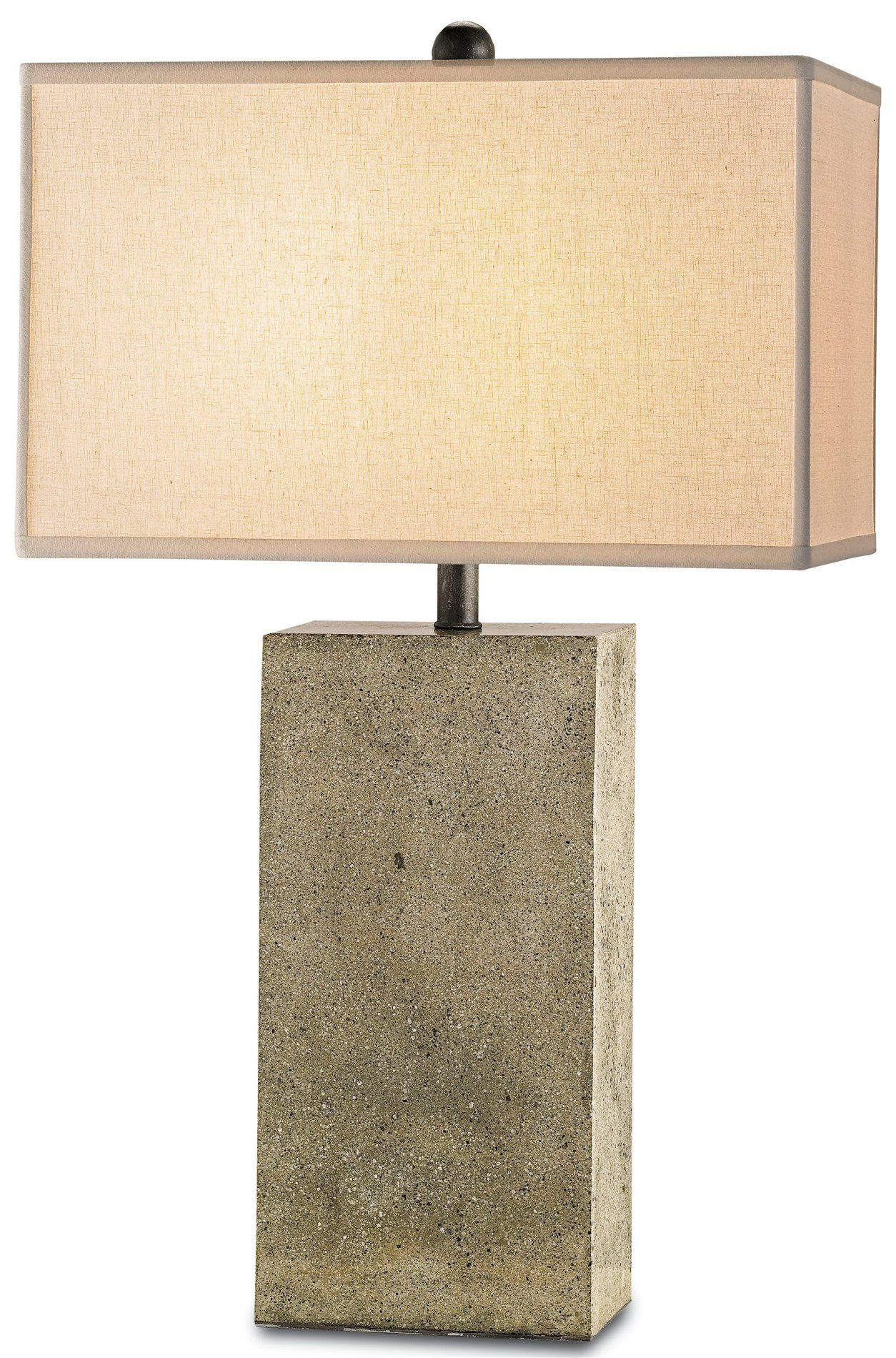 Symbol transitional table lamp concrete table polished concrete currey polished concrete table lamp possibilities to use in fittings and furniture geotapseo Gallery