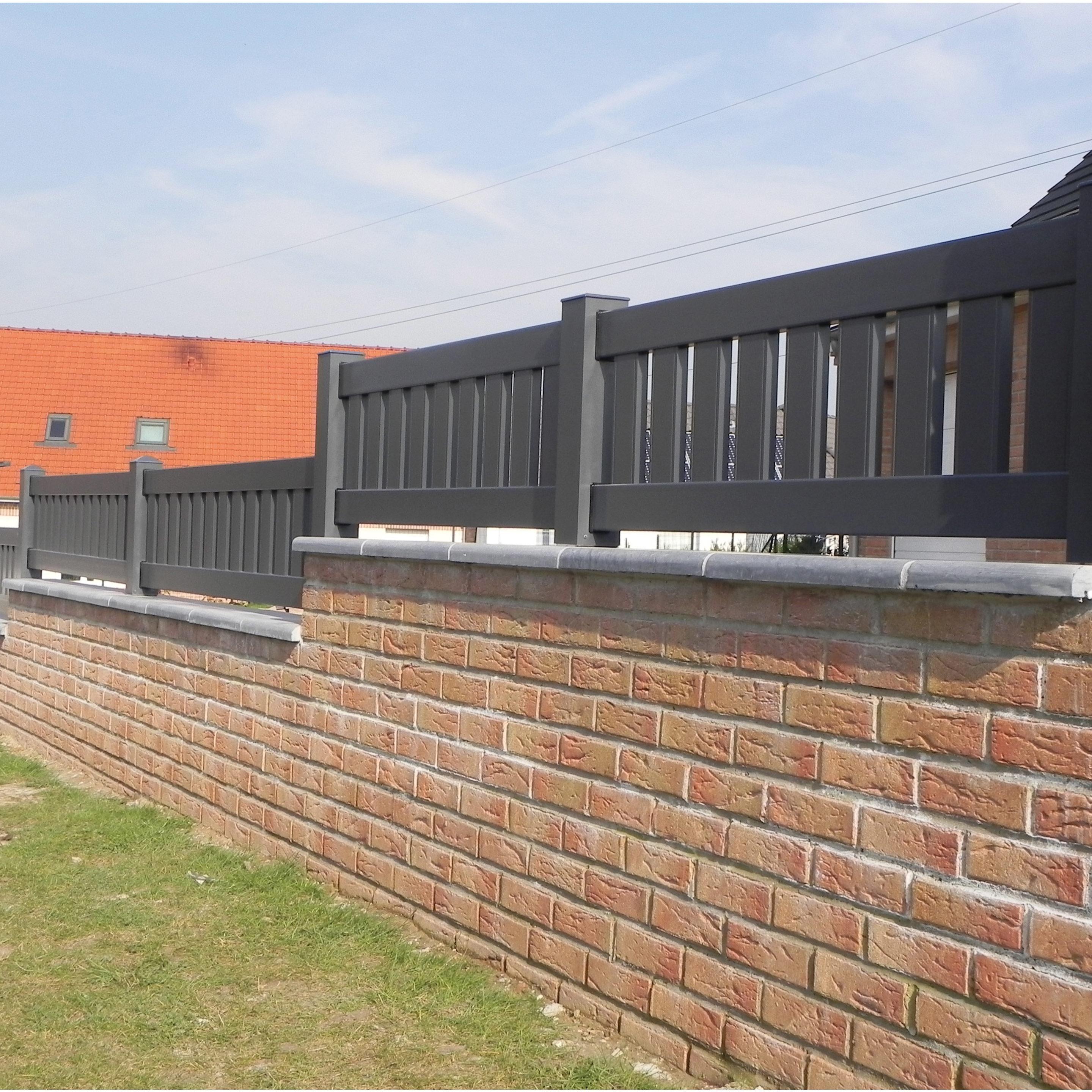 Cloture Aluminium Vigneux Naterial Cloture Aluminium Cloture Fabricant Portail