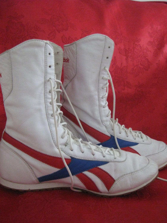 finest selection 5be65 5891f Vintage Reebok Classic Wrestling Shoes by VintageByThePound on Etsy