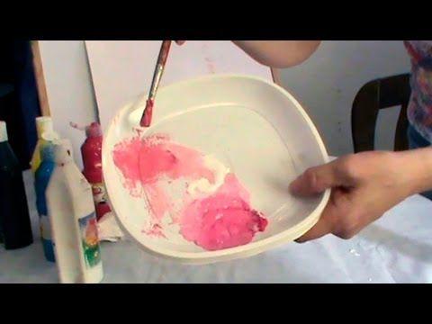 Cómo Hacer Color Rosa Rosa Palo Salmón En 2019 Como