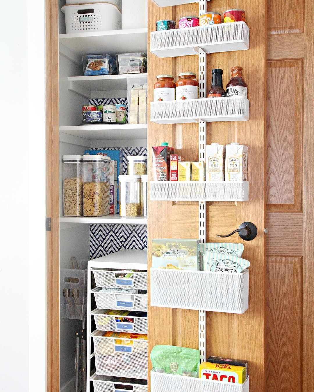 Steal Blogger Jen Jones Tips For Decluttering And Finding Storage Solutions That Work For The Entire Deep Pantry Organization Deep Closet Kitchen Organization