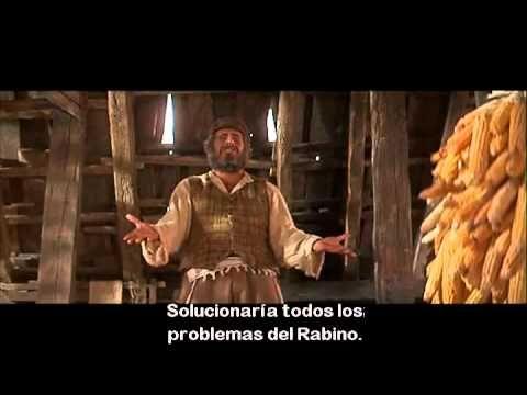 El Violinista Sobre El Tejado Topol Si Yo Fuera Rico 1971 Youtube Violinista Youtube Musical