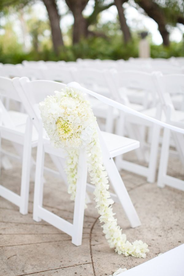 a unique floral application at this Floridian ceremony site  Photography by ktmerry.com, Floral Design and Decor by parrishdesignslondon.com