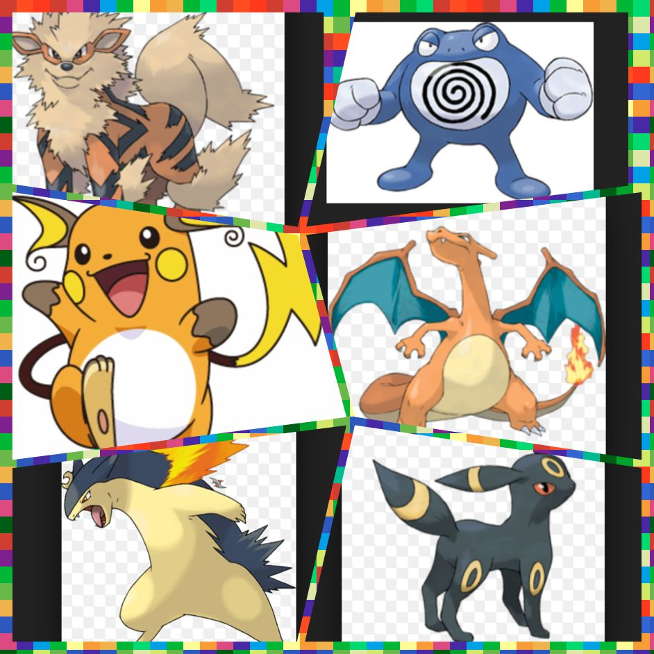 Your next assignment is to make your dream team. You can have up to two starters and no legandaries. This is my example. Btw umbreon is my favorite pokemon if you wanted to know. This task is due by Sunday