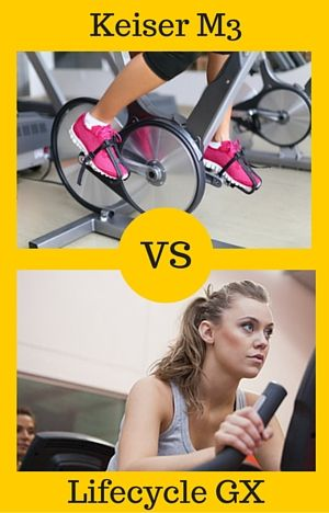 Lifecycle Gx Vs Keiser M3 The Head To Head Comparison Spin