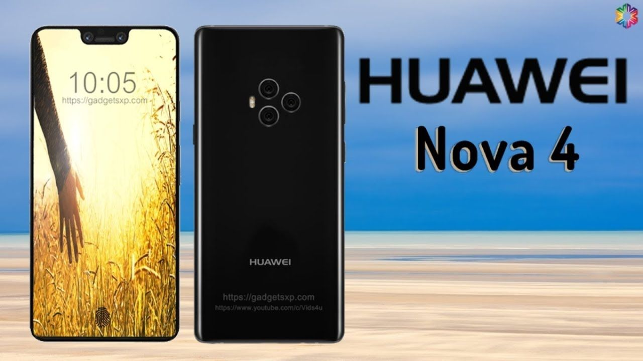 Huawei Nova 4 with 8GB RAM, 5 Cameras, First Look