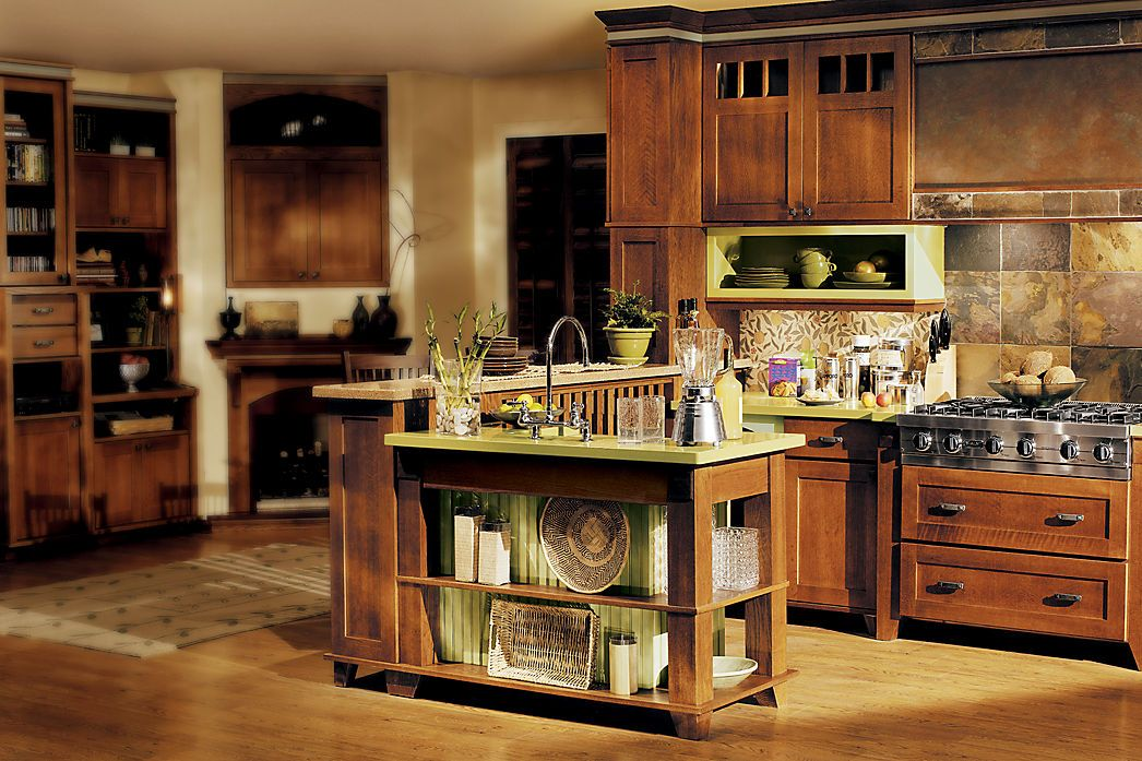 Best Room Gallery Medallion Cabinetry Quartersawn Oak 400 x 300