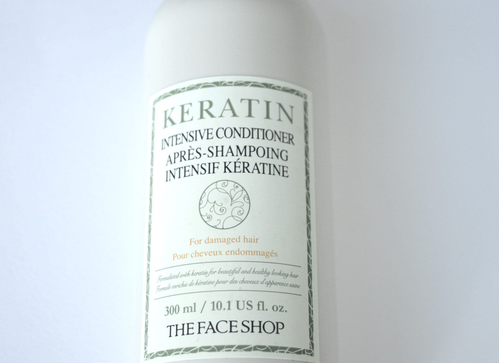 The Face Shop Keratin Intensive Conditioner Review The