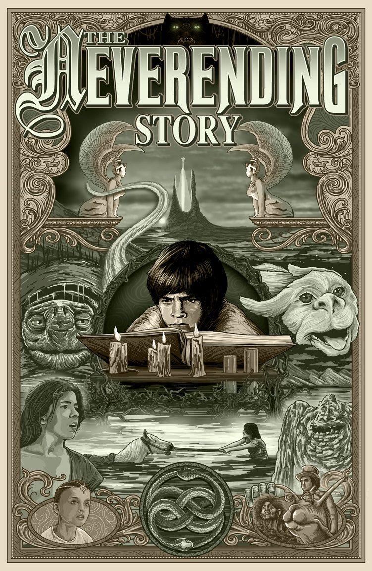 The Neverending Story The neverending story, Movie art