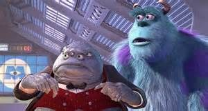 mr waternoose sully monsters inc 2001 monsters inc