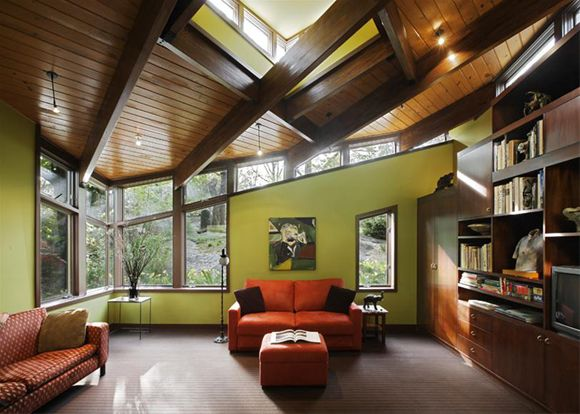 Mid-century Modern Residence in Westchester