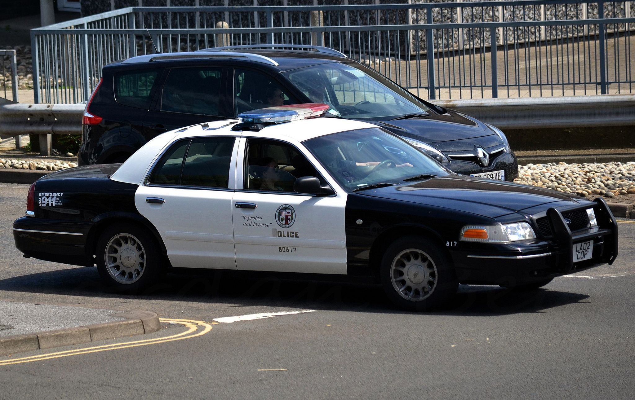 Los Angeles Police Department Ford Crown Victoria 80817 Los Angeles Police Department Cars Uk Police