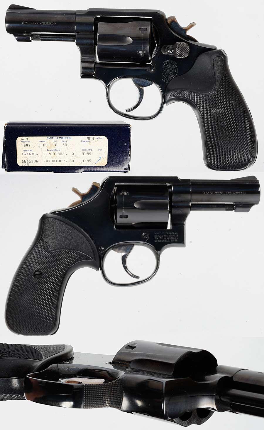 S Amp W Model 547 9mm Item 9366968 S Amp W Smith Amp Wesson Custom