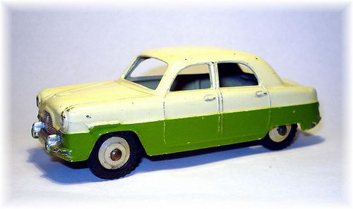 Dinky 162 Ford Zephyr 1956 Ford Zephyr Diecast Toy Toy Car