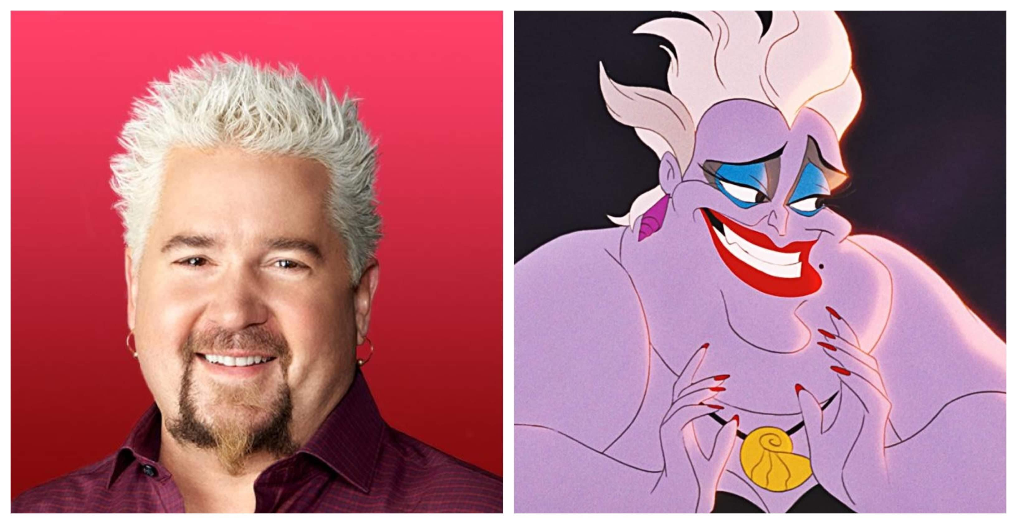 Fans Want Guy Fieri To Play Ursula In The Little Mermaid With