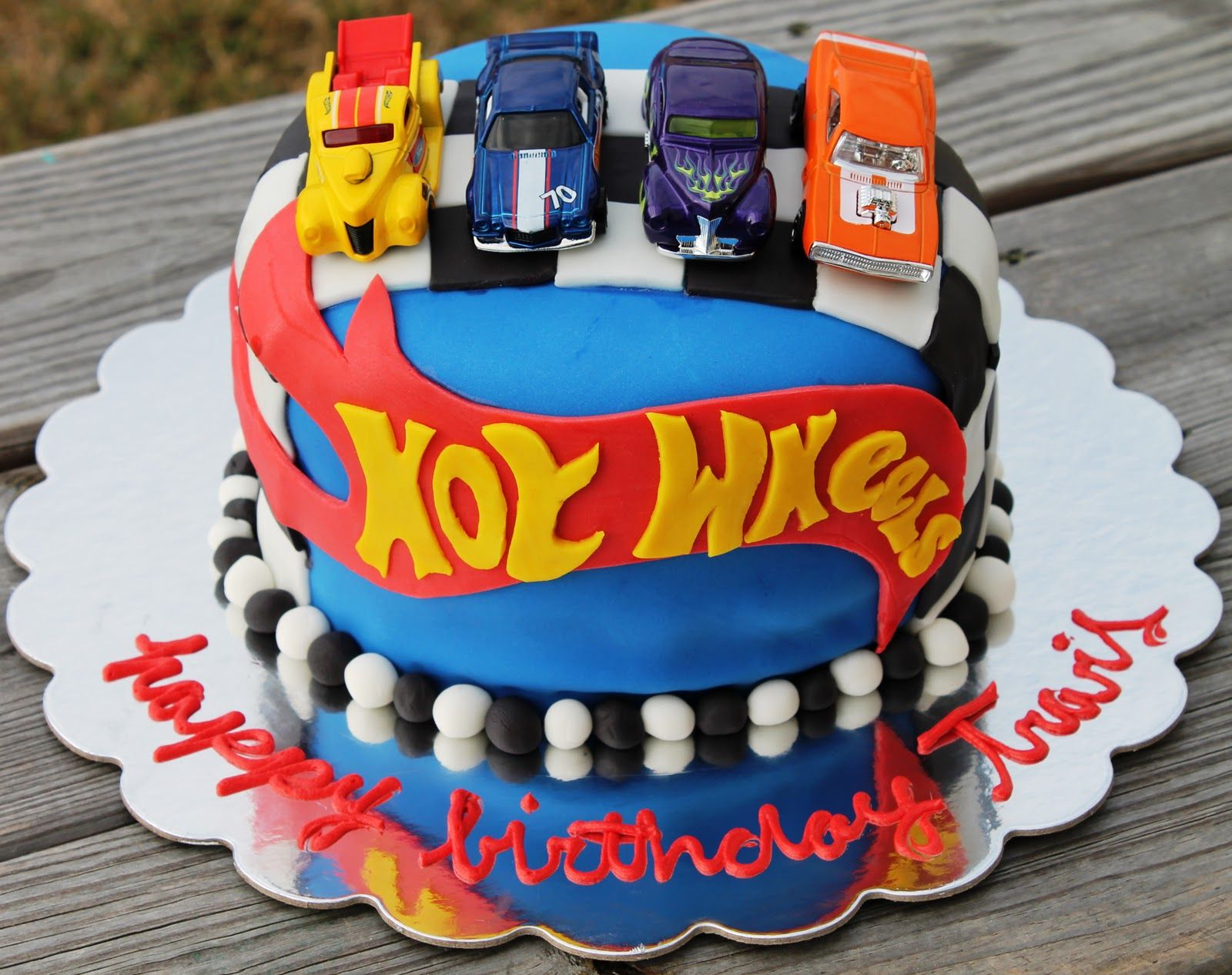 Hot Wheels Leadin The Way With Images Hot Wheels Birthday